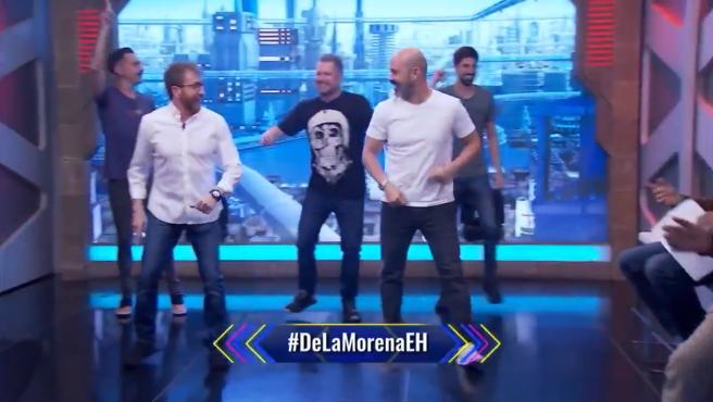 Nuevo baile de 'El hormiguero'.