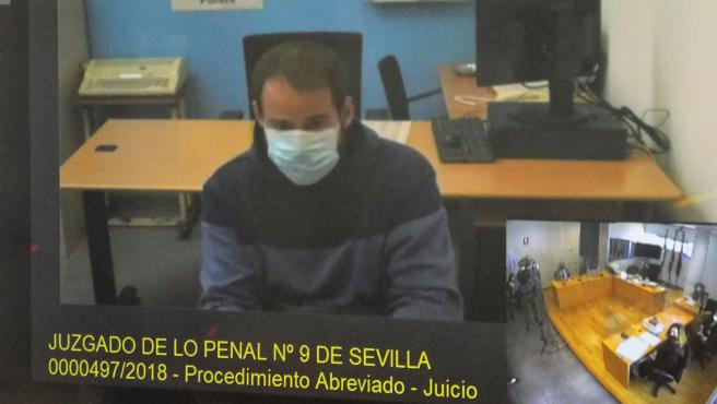 Pablo Hasel testifies before the judge