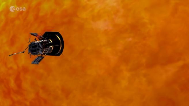 Primera eyección de masa coronal observada por Solar Orbiter