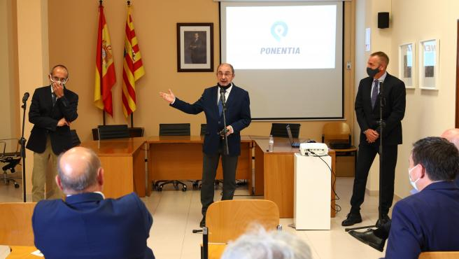 Aragón agilizará la tramitación de la nueva plataforma logística intermodal que impulsará el corredor de La Litera