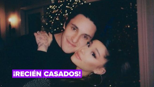 Ariana Grande se ha casado en secreto en su casa de Montecito