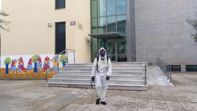 Cvirus.-Ayuntamiento pide a la Junta que programe la vacunación en Bomberos, Zoosanitario y Servicios Sociales