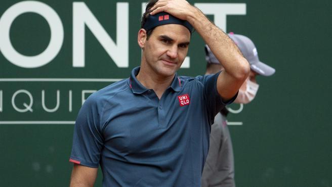 Roger Federer, tras su derrota ante Pablo Andújar.