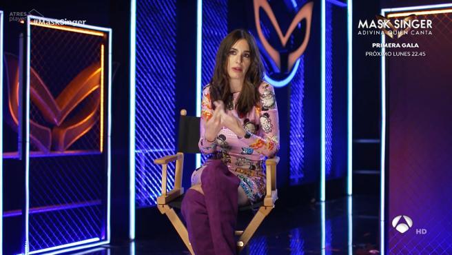 Paz Vega, en 'Mask Singer'.
