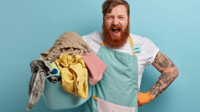 Hacer la lavadora es una de las tareas domésticas más odiadas.