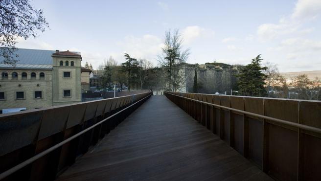 El Ayuntamiento de Pamplona abre un trámite de audiencia para comunicar el reparto de costes en la pasarela de Labrit