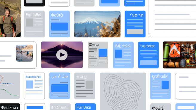 La plataforma de búsqueda estará disponible en más de 75 idiomas.