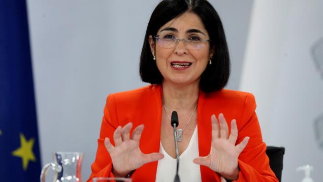 Ministra de Salud Carolina Darias.