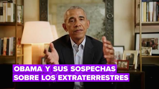 """Obama admite que hay objetos en el cielo que """"no se pueden explicar"""""""