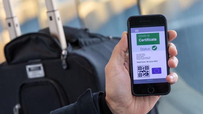 Certificado digital Covid de la UE.