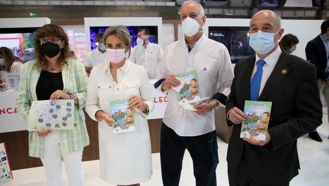 Tolón presenta 'Marco Topo', un juego interactivo que apuesta por el turismo familiar y la senda ecológica