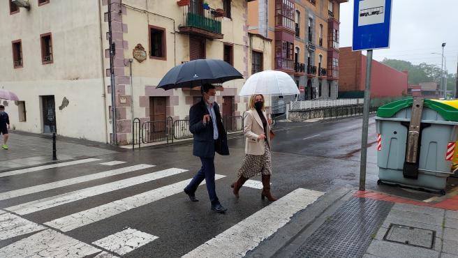 """Alcaldesa dice que zonas verdes y carriles bici no pueden faltar en la """"segunda gran transformación urbana"""" de Barakaldo"""