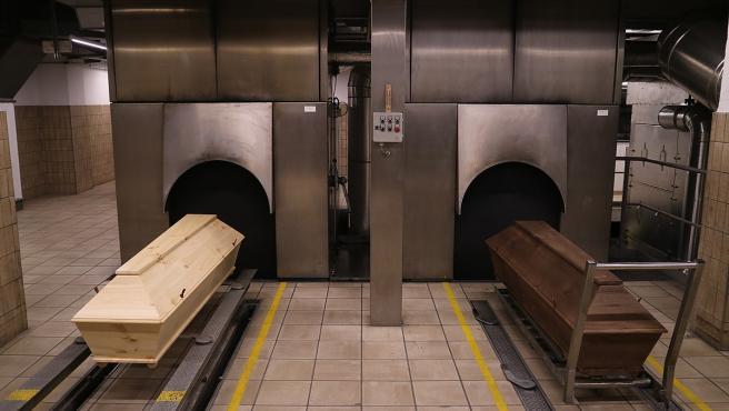 Imagen de un crematorio.