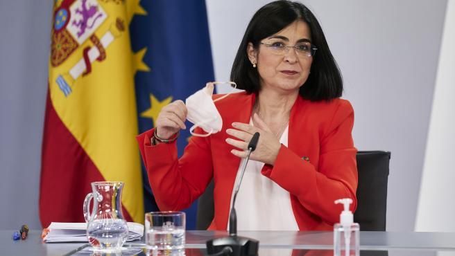 Consejo Interterritorial del Sistema Nacional de Salud, Madrid, Spain - 19 May 2021