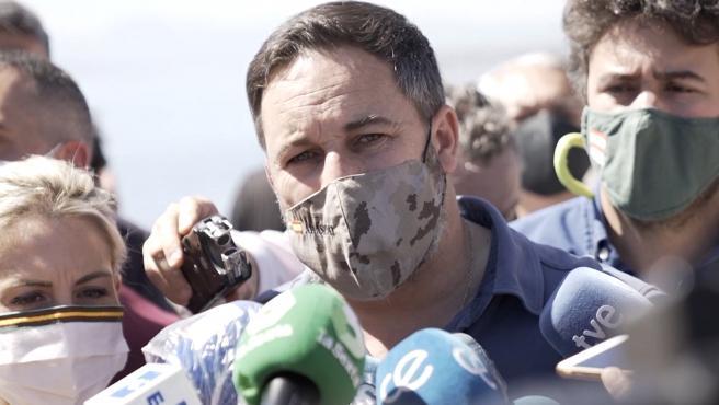 El TSJA ratifica la prohibición del mitin de Abascal en Ceuta