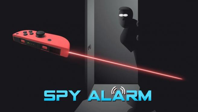 Spy Alarm, la aplicación de Switch que convierte el mando en un sensor de movimientos.
