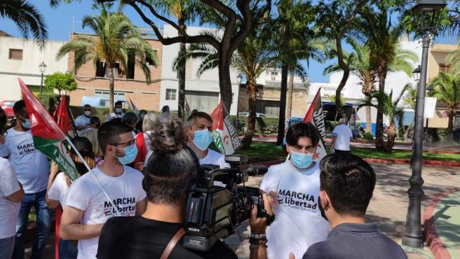 """Adelante anima a participar en la marcha por la """"libertad del Pueblo saharaui"""" que recorrre la provincia"""