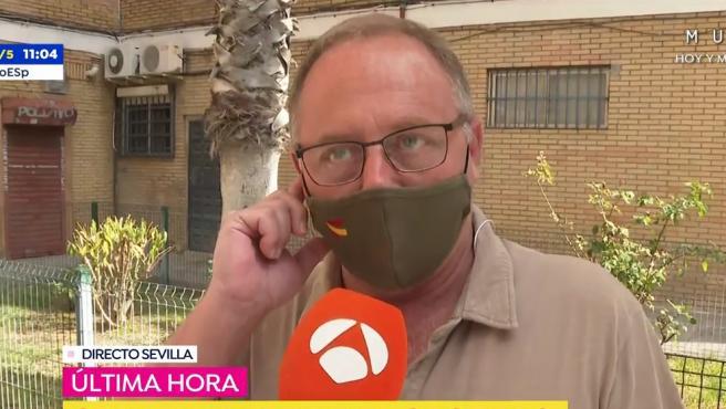 Antonio del Castillo, padre de Marta, entrevistado en 'Espejo Público'.