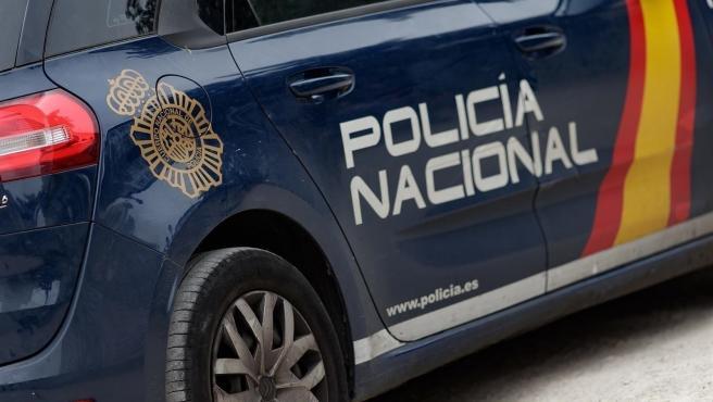 Archivo - Cotxe Policia Nacional. Imatge d'arxiu.