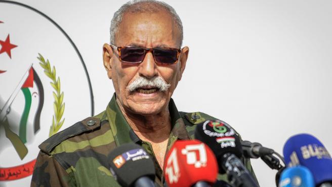 Archivo - El líder del Frente Polisario y presidente de la República Árabe Saharaui Democrática (RASD), Brahim Ghali.
