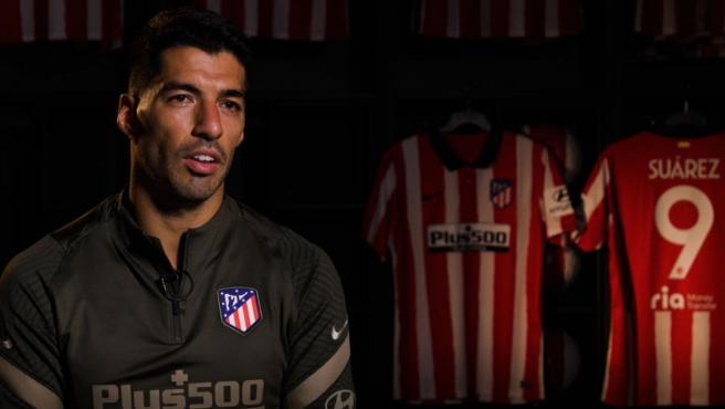 Luis Suárez, jugador del Atlético de Madrid.