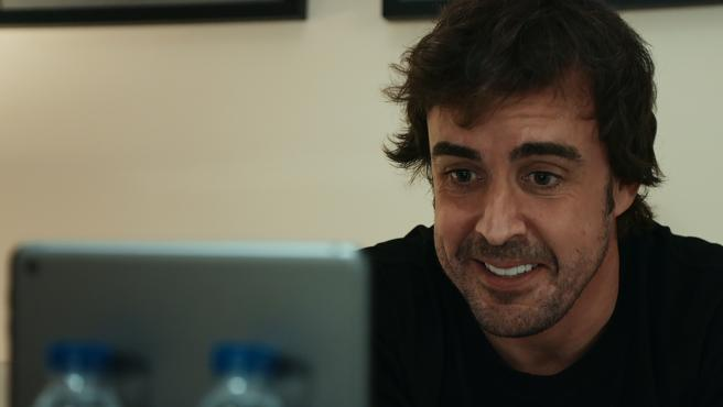 Fernando Alonso, in a chapter of his documentary series