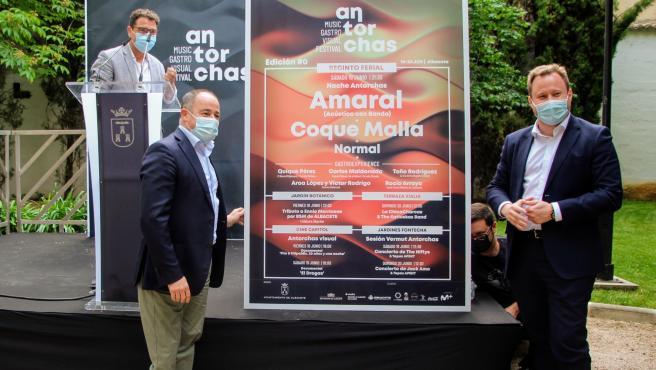 Amaral y Coque Malla encabezan el 'Antorchas Festival' de Albacete del 18 al 20 de junio