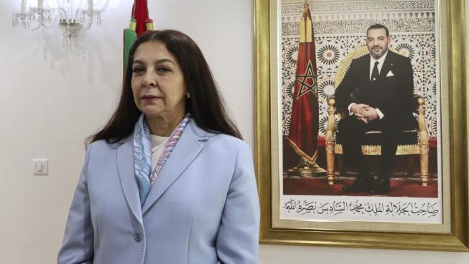 La embajadora marroquí en España, Karima Benyaich