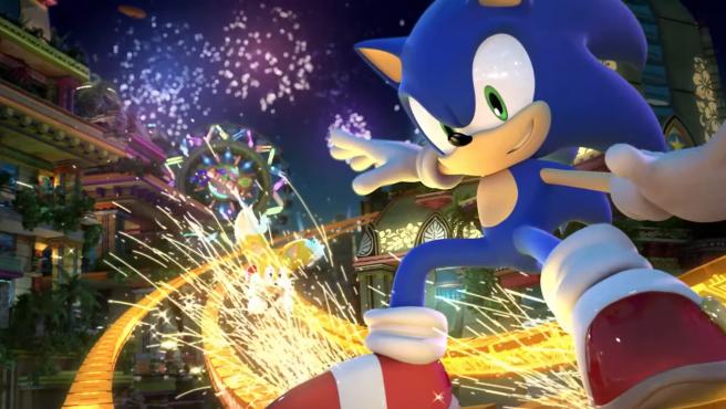 Sonic y Tails en la remasterización de 'Sonic Colors'.