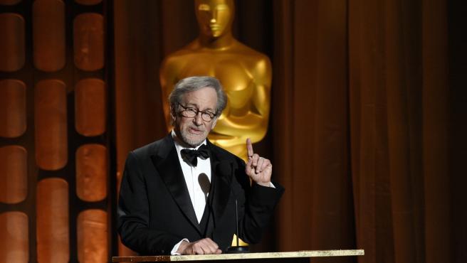 Spielberg durante los Oscar de 2017.