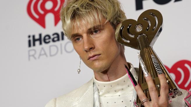 Machine Gun Kelly en los premios iHeartRadio.