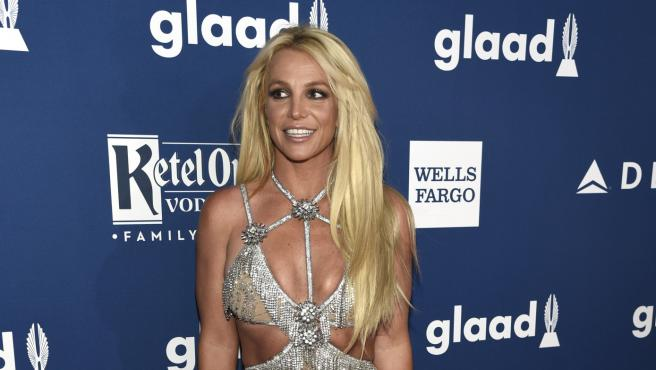 Britney Spears, en los premios GLAAD 2018, en Beverly Hills, California (EE UU).