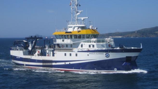 Llega a Tenerife el buque oceanográfico que buscará a Anna y Olivia