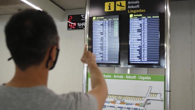 Los aeropuertos de Baleares operarán este sábado 597 vuelos, 451 de ellos internacionales