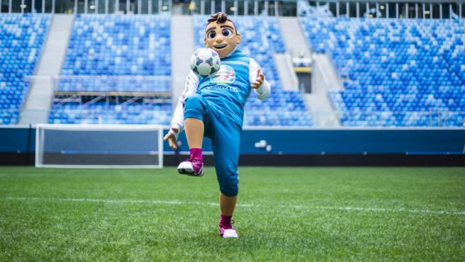 Skillzy, la mascota de la Eurocopa