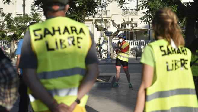 IU-Aragón participará en la columna aragonesa de la Marcha por la Libertad del Pueblo Saharaui