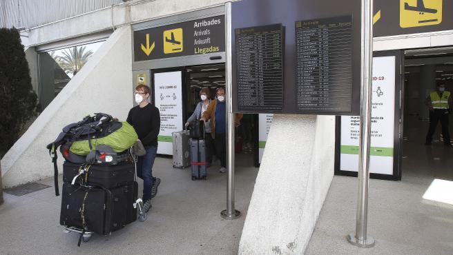 Los aeropuertos de Baleares operarán este domingo 609 vuelos, 391 de ellos internacionales