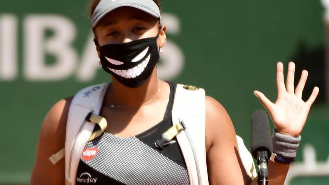 La tenista japonesa Naomi Osaka