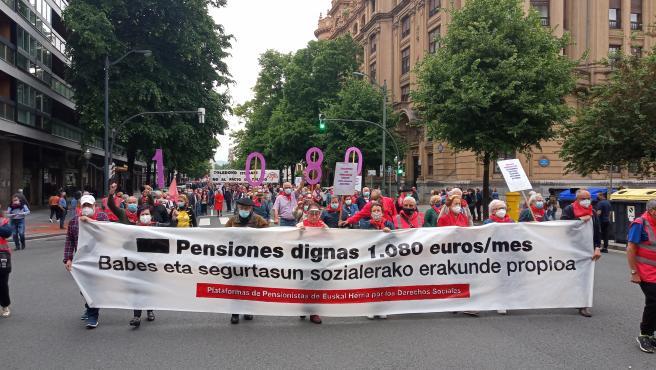 """Pensionistas dicen que la movilización del 29 de mayo es """"un punto y seguido"""" y planean una nueva protesta para otoño"""