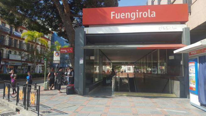 Renfe comienza las obras para la mejora de la accesibilidad de la estación de Fuengirola