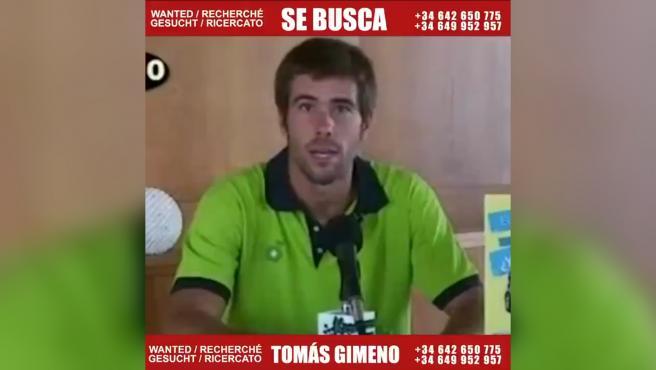 Tomás Gimeno, padre de las niñas desaparecidas en Tenerife.