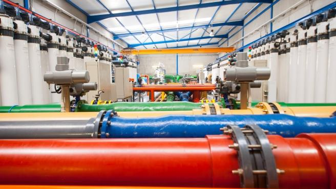 ELMASA estudia reducir productos químicos en los pretratamientos con ultrafiltración en el proceso de desalación