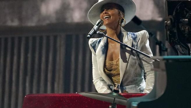 Alicia Keys en los Premios Billboard.