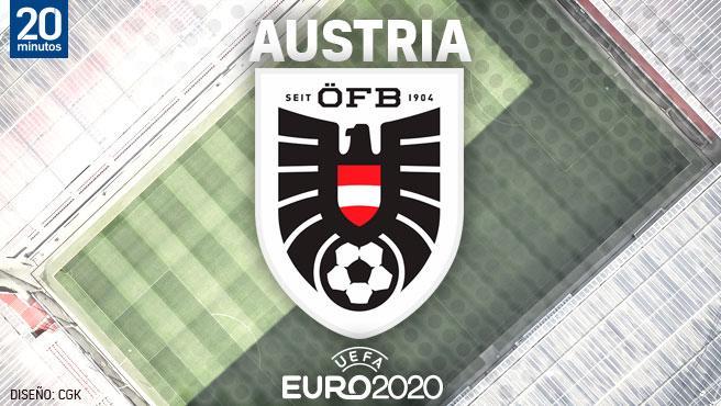 Equipo austriaco para el Campeonato de Europa
