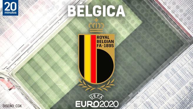 Equipo belga para la Eurocopa.