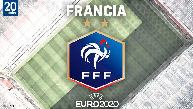 Equipo francés para la Eurocopa