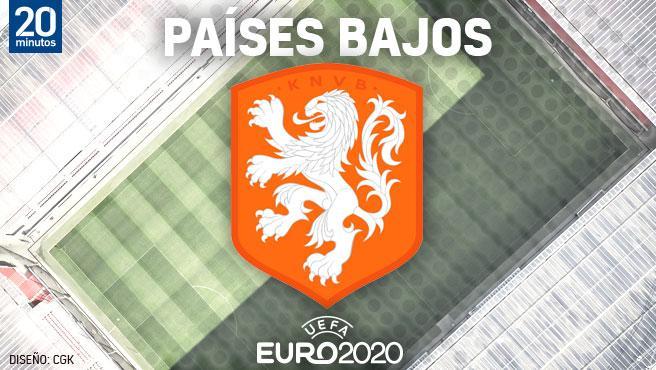 Equipo de Holanda para el Campeonato de Europa