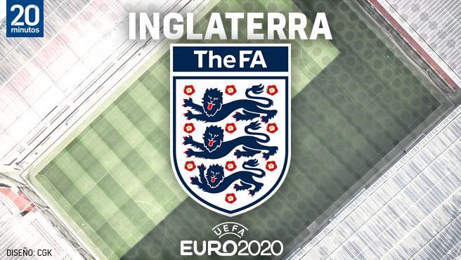 Equipo de Inglaterra para el Campeonato de Europa