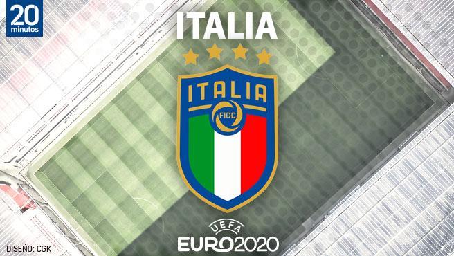 Equipo de Italia por la Euro