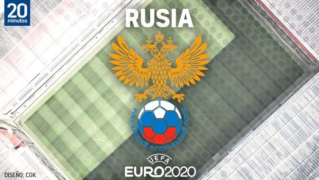 Equipo ruso por la Euro